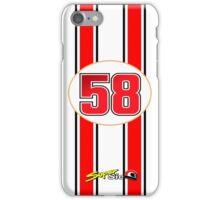 Supersic Simoncelli 58 iPhone Case/Skin