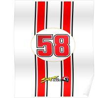 Supersic Simoncelli 58 Poster