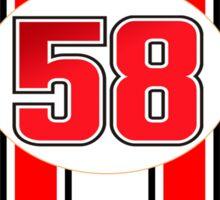 Supersic Simoncelli 58 Sticker