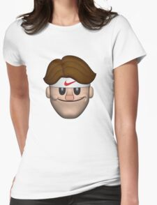 SPORT ROGER FEDERER EMOJI Womens Fitted T-Shirt