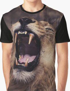 dangerous lion Graphic T-Shirt