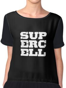 logo supercell Chiffon Top