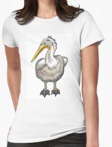 Artistic pelican bird drawing design T-Shirt