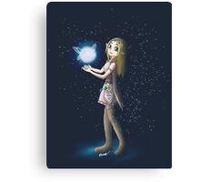 Princess Zelda and Fairy Canvas Print