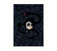 Chibi Hiei  Art Print