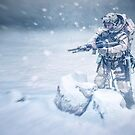 Snow soldier by jordygraph