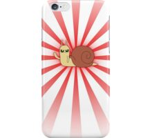 Adventure Time snail possessed - Red Case iPhone Case/Skin