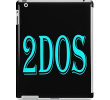 2Dos black iPad Case/Skin