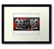 Kaito Series 1 Schematics Framed Print