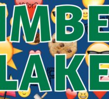 CAMP BFF TIMBER LAKE Sticker