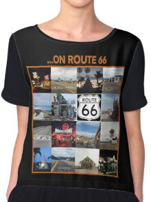 ...on Route 66 Chiffon Top