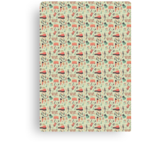 Once Seamless Pattern Canvas Print