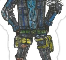 Dick Grayson - Zombie Bats! Sticker