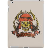 Greatest Khan iPad Case/Skin