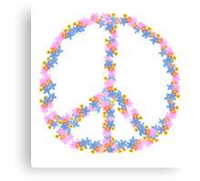 Floral Peace Canvas Print
