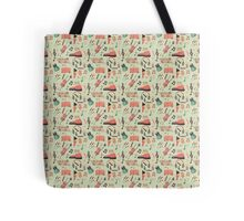 Once Seamless Pattern Tote Bag