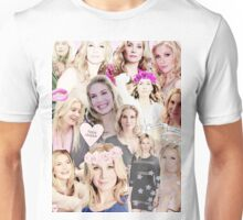 Elizabeth Mitchell Collage Unisex T-Shirt