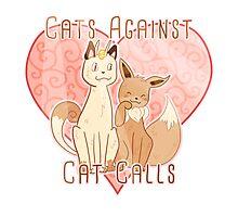 Pokemon Cats Against Cat Calls Photographic Print