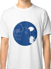 full moon romance nature Classic T-Shirt