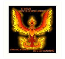 The Phoenix- Fall Out Boy Art Print