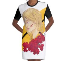 Beatrix Kiddo Graphic T-Shirt Dress