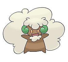 Pokemon Whimsicott Photographic Print