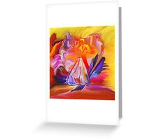 This is our Dance-  Art + Products Design  Greeting Card