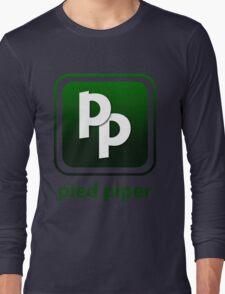 Pied Piper New Logo Shirt for Tech Crunch Disrupt Long Sleeve T-Shirt