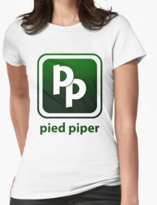 Pied Piper New Logo Shirt for Tech Crunch Disrupt Womens Fitted T-Shirt