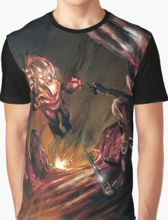 Attack of the Elemental Beast Graphic T-Shirt
