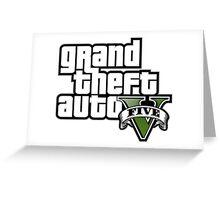 GTA V LOGO Greeting Card