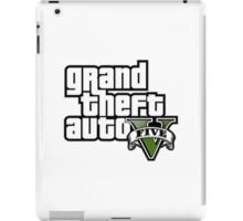 GTA V LOGO iPad Case/Skin