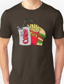 junk food and a diet coke T-Shirt