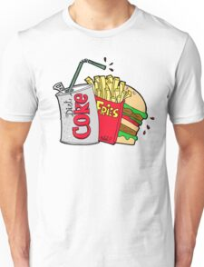 junk food and a diet coke Unisex T-Shirt