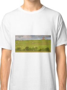 rural ireland scenic nature cows countryside landscape Classic T-Shirt