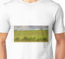 rural ireland scenic nature cows countryside landscape Unisex T-Shirt