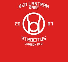 Red Lantern - Boxing Style - White Print Unisex T-Shirt