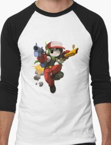 Quote (Cave Story) Men's Baseball ¾ T-Shirt