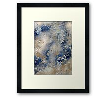 Ice (Abstract) Framed Print