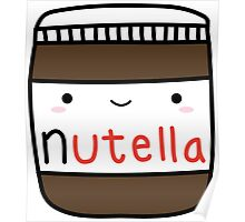 Nutella kawaii. Poster