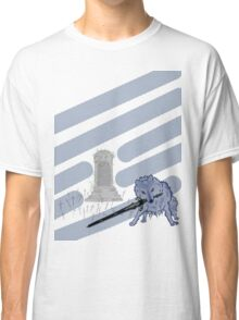Great Grey Wolf Sif and Artorias Classic T-Shirt