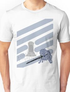 Great Grey Wolf Sif and Artorias Unisex T-Shirt