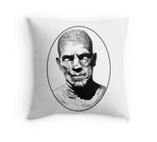 Death, Eternal Punishment For Anyone Who Opens This Casket  Throw Pillow