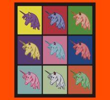 Pop Art Unicorn Kids Tee