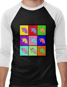Pop Art Unicorn Men's Baseball ¾ T-Shirt