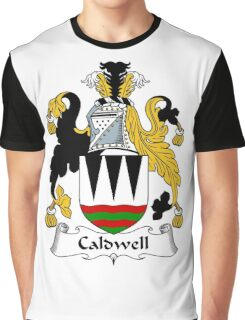 Caldwell Coat of Arms / Caldwell Family Crest Graphic T-Shirt