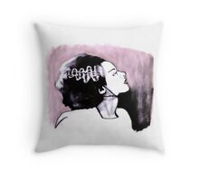 No Nonsense About Angels And Being Good Throw Pillow