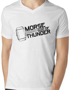 Morse God of Thunder (Light Version) Mens V-Neck T-Shirt