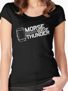 Morse God of Thunder (Dark Version) Women's Fitted Scoop T-Shirt