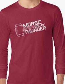 Morse God of Thunder (Dark Version) Long Sleeve T-Shirt